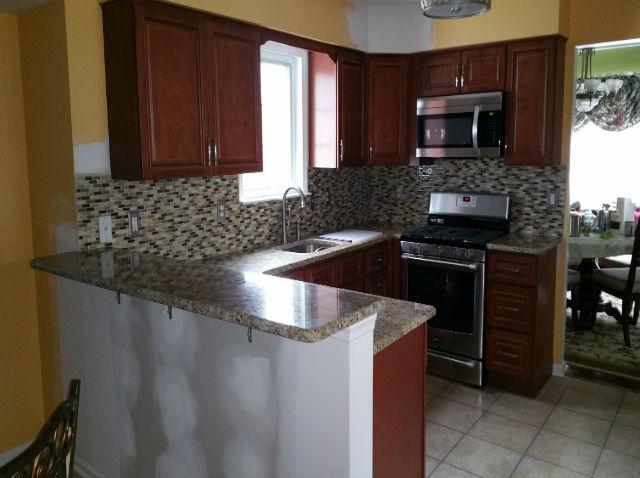 The Basic Kitchen Co. - remodeled kitchen - Trenton, NJ - April 2015