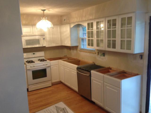The Basic Kitchen Co. - remodeled kitchen - Edison, NJ - August 2014