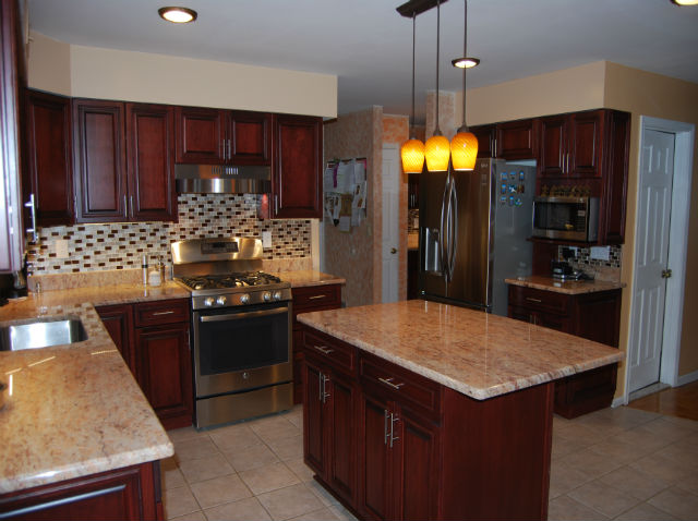 The Basic Kitchen Co. - remodeled kitchen - Princeton Jct., NJ - January 2015