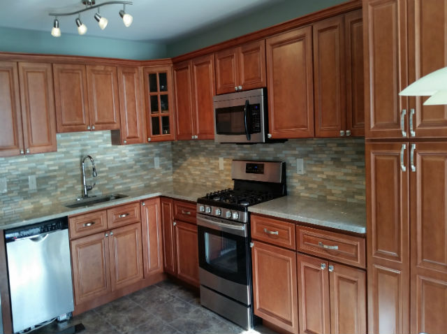 The Basic Kitchen Co. - remodeled kitchen - Edison, NJ - January 2015