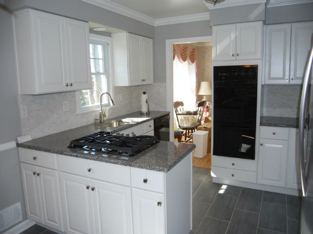 The Basic Kitchen Co. - remodeled kitchen - New Providence, NJ - April 2015