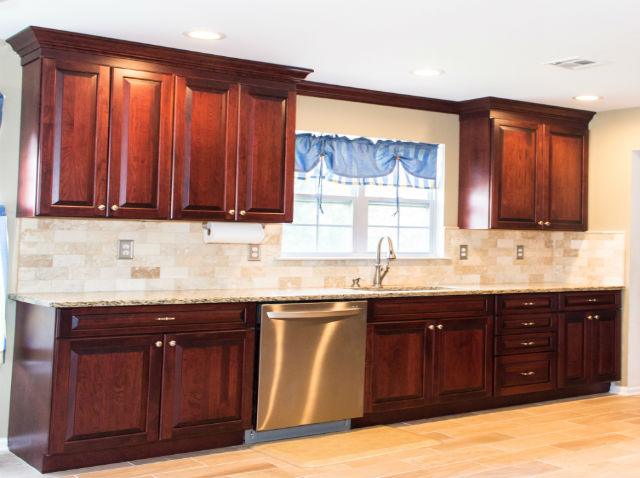 The Basic Kitchen Co. - remodeled kitchen - Old Bridge, NJ - May 2015