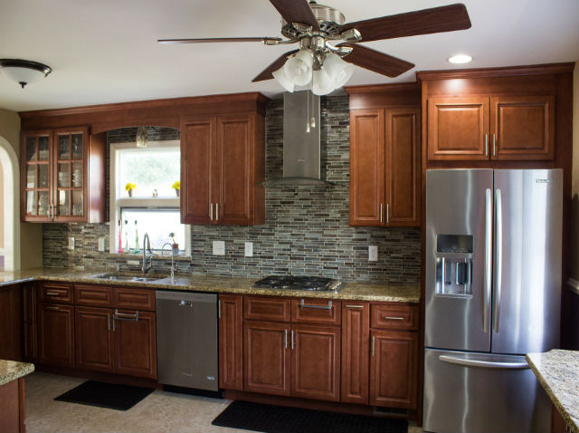 The Basic Kitchen Co. - remodeled kitchen - Hillsborough, NJ - September 2015