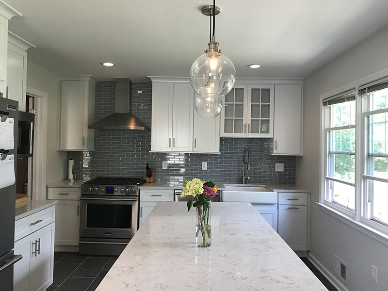 The Basic Kitchen Co. - remodeled kitchen - West Windsor, NJ - June 2017