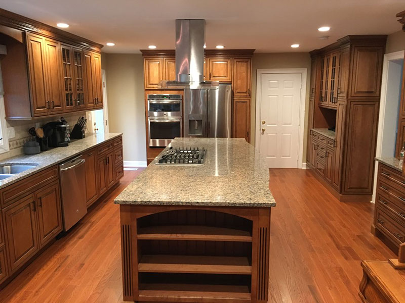 The Basic Kitchen Co. - remodeled kitchen - Princeton, NJ - October 2017