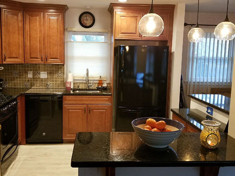 The Basic Kitchen Co. - remodeled kitchen - Somerset, NJ - February 2018